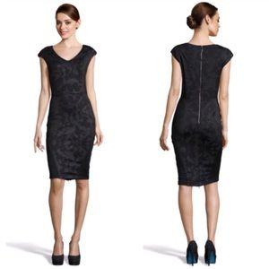 Stories by Kelly Osbourne Marble Ponte Mid Dress